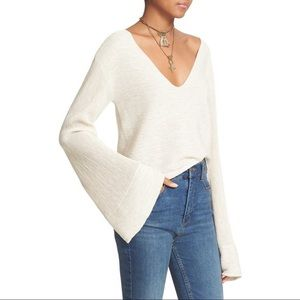 Free People Bell Sleeved Starman Sweater